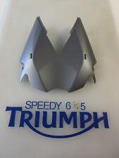 TRIUMPH STREET TRIPLE & R UNDERTRAY PANEL MATT GRAPHITE A9708342 LS 2013 ONWARDS