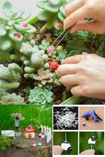 100 Pieces Miniature Ornaments Kit For Diy Fairy Garden Dollhouse Decoration New