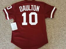 Darren Daulton Philadelphia Phillies Sml Mitchell & Ness Authentic BP Jersey 91