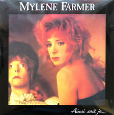 Mylène Farmer ‎LP Ainsi Soit Je... - Limited Edition, Numbered, Repress, 180g