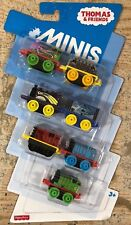 Thomas & Friends MINIS Set 7 Pack # 3 Octopus Percy, Construction D-10, Salty