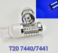 T20 7440 7441 w21w 992 12V 33SMD Blue SMD LED Light Front Turn Signal M1 MAR