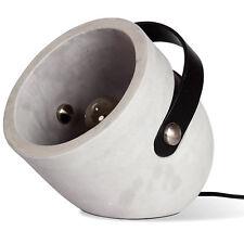 Wandspot Beton Lampe Spot Industrie Loft Design Textilkabel Tragegriff Cool NEU