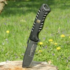 """9.25"""" Licensed US ARMY """"Champ"""" TACTICAL Fixed Blade COMBAT KNIFE w/Molle Sheath"""
