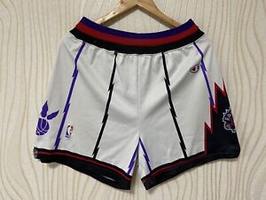 TORONTO RAPTORS BASKETBALL SHORTS CHAMPION sz L