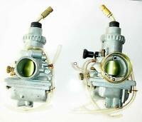 Carburetor Carb Vergaser Vm26 26mm Venturi Set Of 2 Fits Yamaha Rd 350