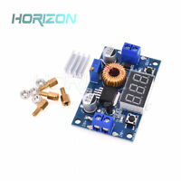5A Adjustable Power CC/CV Step-down Charge Module LED Driver+Red Voltmeter good