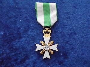 ^A24-016  Belgisches Medal Fire-Brigade Cross 2nd Class - gold Feuerwehr
