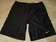 Mens - NIKE  - Basketball Gym Shorts Black L Large