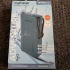 MyCharge AdventureH20 Rugged Ext Portable Charger 15000mAh Waterproof Power Bank
