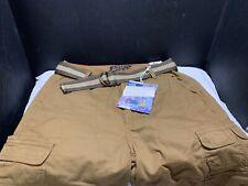 NWT Mens PLUGG Messenger Cargo Shorts Rum Sz 29