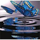 Diamond Painting 5D Full Drill Blue Butterfly Hobby Cross-Stitch Kit Gifts