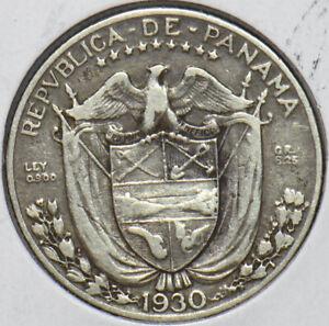 Panama 1930 1/4 Balboa Eagle animal 194734 combine shipping