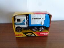 VINTAGE BUDDY L SANITATION TRUCK IN ORIGINAL BOX # 489 M     1983