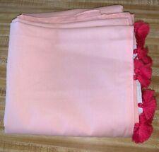 Tassel Blackout Curtain Panel - Pillowfort™ Pink