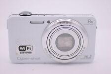 Sony Cyber-shot DSC-WX80 16.2MP Digital Camera - White