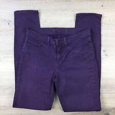 J Brand Women's Jeans Aubergine Skinny Leg Size 27 W28 L29.5 (YY5)