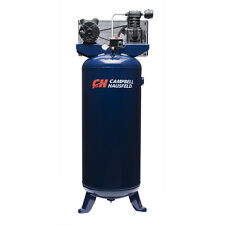 Blue Vertical Steel 3.7-HP 60-Gallon 135-PSI 230-Volt Electric Air Compressor