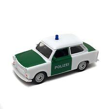 Trabant 601 German Police Polizei Welly 1:60 1:64 52325 3-inch Vintage Toy Car