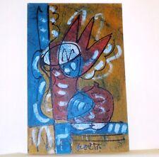 Bohumil Samuel KECIR (1904–1987) XXL 100x65 cm – ÖLGEMÄLDE STILLEBEN - Tulpe
