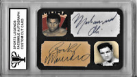 Muhammad Ali Rocky Marciano Sports Legends Limited Edition Facsimile Autograph