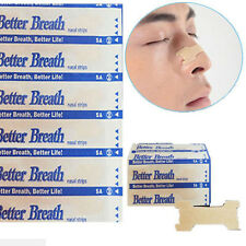 100 Pcs Nose Nasal Strips Plaster Sleeping Aid to stop Snore Snoring