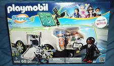 Playmobil Super 4 Techno Chameleon Vehicle with Gene Building Kit #6692, New
