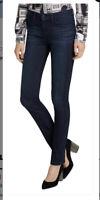 Karl Lagerfeld Womens Jeans Paris Straight Mid Rise Full Leignth Dark Wash 14NWT