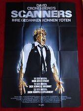 Scanners Kinoplakat Filmplakat A0 David Cronenberg, M. Ironside 84x119cm 1980