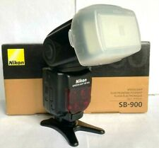 Nikon SB900 Speedlight. Boxed in Superb Condition and Perfect Working Order.