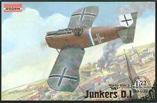 Roden 1/72 Junkers D.I (Short Fuselage Version) # 036
