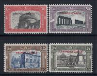 Tripolitania 1929 Sass. 50-53 Nuovo ** 100% Milizia II, Opera Previdenza