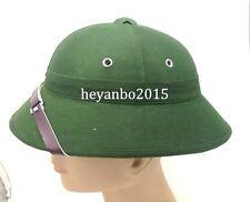 Army DAK Afrika Korps Tropical Pith Helmet Cap Green