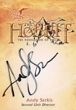 The Hobbit The Desolution Of Smaug, Andy Serkis 'Second unit Director Auto CA-4