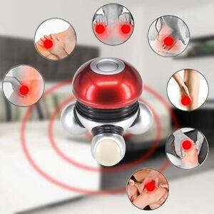 Portable Body Massager Handheld Battery Gentle Vibration Massager 3 LED Light