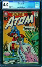 Showcase #34 CGC 4.0 -- 1961 -- 1st app Silver Age Atom #1295959008