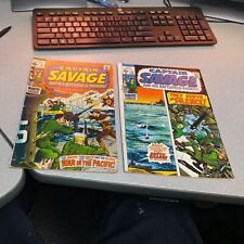 Captain Savage And His Battlefield Raider 17 19 Marvel Comics 1970 Bronze Age...