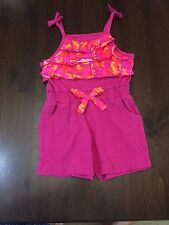 Game Winner Girls Romper Woodland One Piece Shorts Suit - 2T - NWT