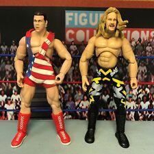 WWE Wrestling Jakks Finishing Moves Series 1 Chris Jericho Kurt Angle Figures