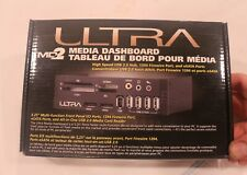 "ULTRA MD2 5.25"" DRIVE INTERNAL MEDIA DASHBOARD USB 1394 ESATA AUDIO FLASH MEDIA"