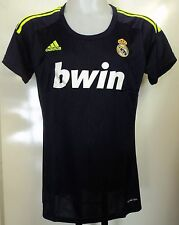 Real MADRID 2012/13 onorevoli AWAY SHIRT by Adidas Donna Taglia XL Nuovo di Zecca