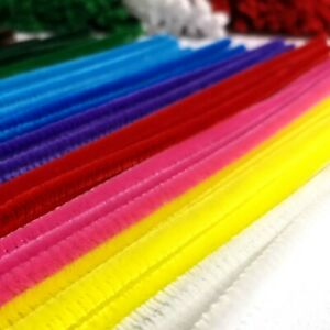 Pipe Cleaners 30cm*6mm 13 Colours 20-200 Pack High Quality Chenille Craft Stems