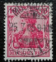 Germany: 1905 -1911 Germania & Local Motifs 10 Pfg. Rare & Collectible Stamp.