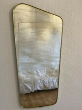 Mid Century Nieren Spiegel Wandspiegel 50er 60er Jahre Fifties Sixties