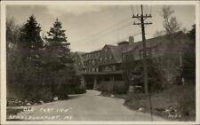 Kennebunkport ME Old Fort Inn c1920 Real Photo Postcard