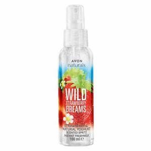 Avon Naturals Strawberry & Natural Yoghurt Body Mist Body Spray 100 ml Rare New