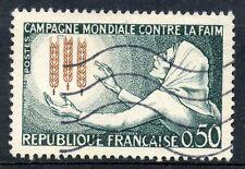 STAMP / TIMBRE FRANCE OBLITERE N° 1379 CAMPAGNE MONDIALE CONTRE LA FAIM