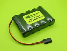 6v 2500  FLAT BATTERY 4 RC AIRPLANES / J / 2505F-J / MADE IN USA