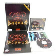 Diablo for PC CD-ROM by Blizzard Entertainment, Big Box, 1996, Action, VGC