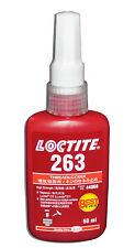 LOCTITE 263 HIGH STRENGTH THREADLOCKER HIGH STRENGTH LIQUID  - 50 ML